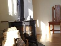 castaways log burner